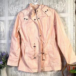 Merona Women's rain jacket with hoodie